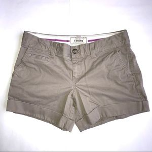 "Old Navy 5"" Khaki Shorts"